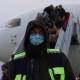 Жители Полтавской области в Украине протестуют против коронавирусного карантина