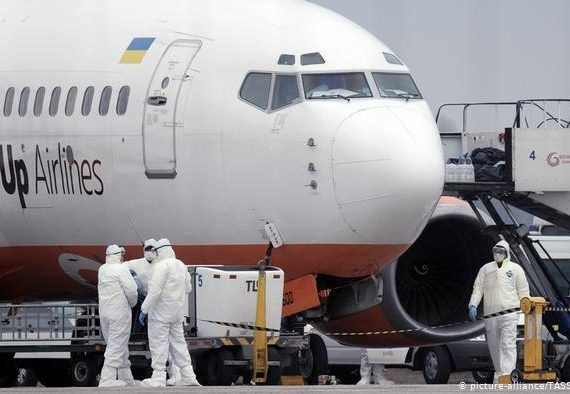 Глава Минздрава Украины осталась в карантине с эвакуированными согражданами